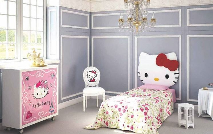 camera bambina Hello Kitty