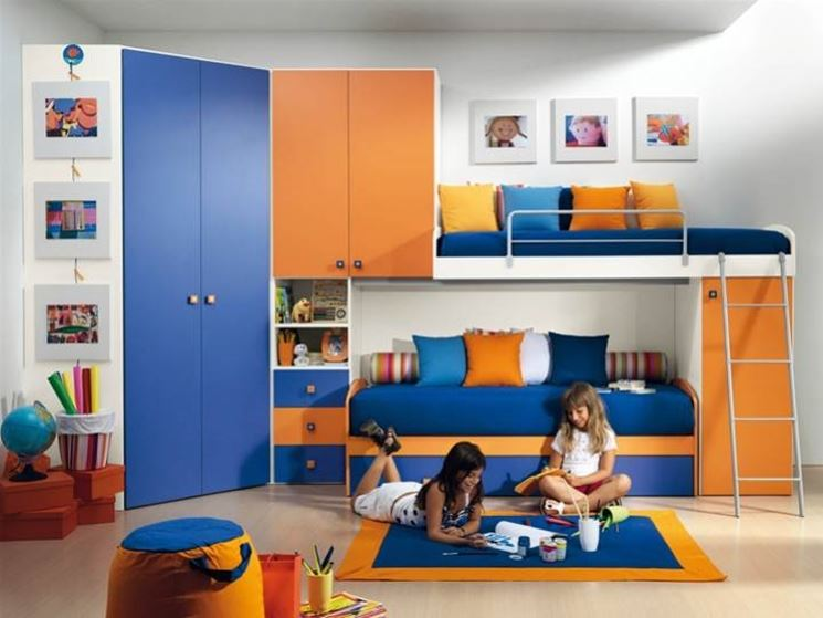 Cameretta bambini idee camerette for Idee camerette bambini