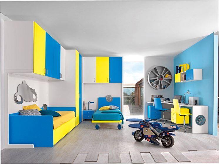 cameretta per bambini idee camerette. Black Bedroom Furniture Sets. Home Design Ideas