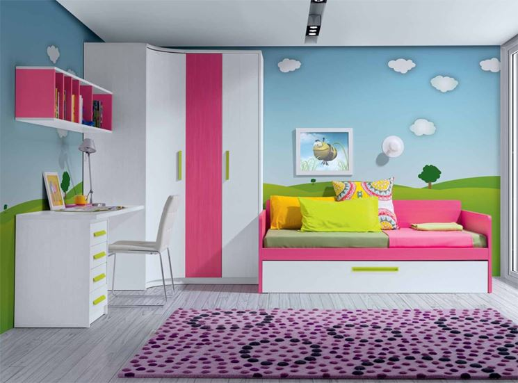 Cameretta bambini idee rd26 regardsdefemmes for Idee camerette bambini