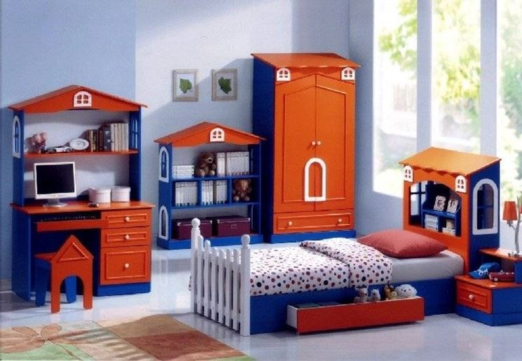 Camerette bambini idee camerette for Idee camerette bambini