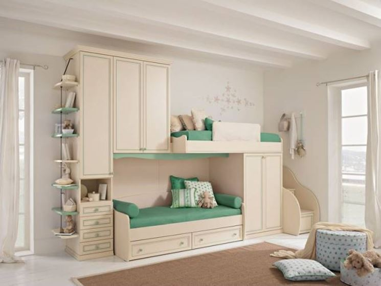 Camerette colombini marche camerette - Children bedroom ideas small spaces model ...