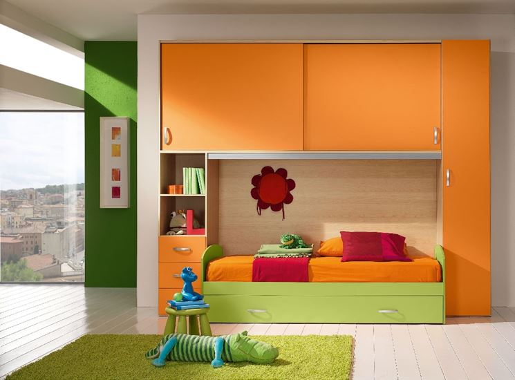 Image Gallery letto a ponte