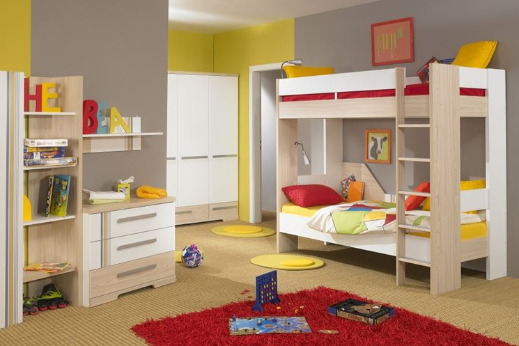 Mercatone uno camerette camerette moderne - Children bedroom ideas small spaces model ...